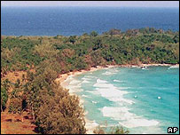 Cambodia's coastline