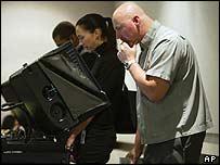 Избиратели в Лас-Вегасе