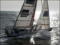 French Vendee Globe competitor Marc Thiercelin