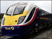 FirstGroup train
