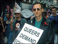 OutRage! head Peter Tatchell