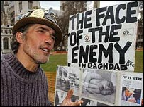 Anti-war protester Brian Haw