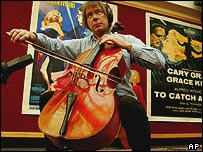 Julian Lloyd Webber plays the Guadagnini cello at Christie's