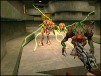 Screenshot from Half-Life, Vivendi
