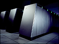 Blue Gene supercomputer (Image: IBM)