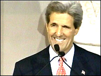 John Kerry concedes the election