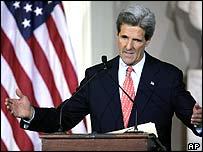 Senator John Kerry concedes defeat