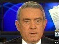 CBS anchor Dan Rather
