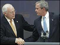 Дик Чейни и Джордж Буш