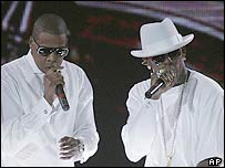 Jay-Z and R Kelly