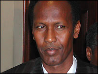 Fromer Somali Prime Minister Ali Mohamed Ghedi