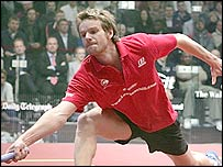 World-number one Lee Beachill