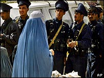 Police in Kandahar