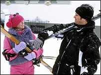 Renee Zellweger and Colin Firth in Bridget Jones: Edge of Reason