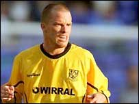 Iain Hume in action for Tranmere