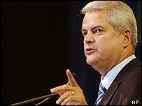 Romanian PM Adrian Nastase