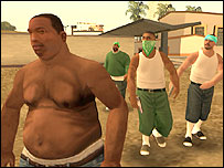 Screengrab of GTA: San Andreas