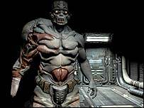Screengrab of Doom 3