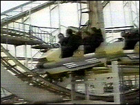 Home video of rollercoaster - Video released by HSE