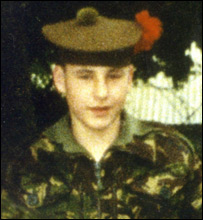 Pte Scott McArdle
