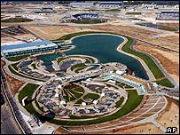 2004 Athens Olympics venues under construction