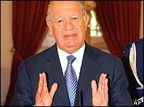 Chilean President Ricardo Lagos