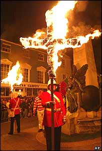 Lewes bonfire celebrations