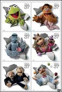 The Muppets stamps