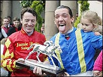 Kieren Fallon and Frankie Dettori