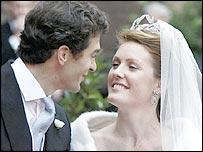Edward van Cutsem and Lady Tamara Grosvenor
