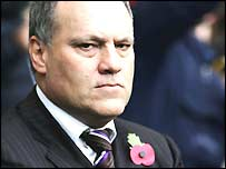 New Spurs manager Martin Jol