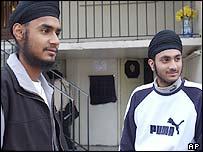 Ranjit (l) and Jasvir Singh