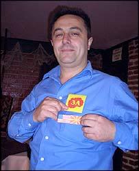 Struga waiter Borce Gjoneski