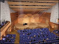 Impression of auditorium