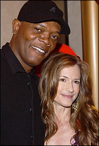 Samuel L Jackson and Holly Hunter