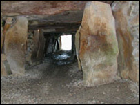 La Hougue Bie burial chamber