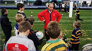 England rugby coach Andy Robinson