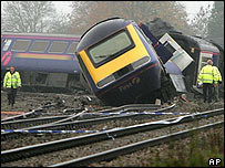 Berkshire train crash