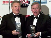 Billy McNeill and John Greig are inducted