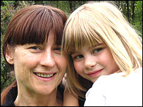 Gillian Webber and 5-year-old daughter Lucy.