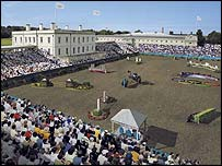 How equestrian events in Greenwich Park would look in 2012