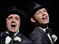 Nathan Lane and Lee Evans