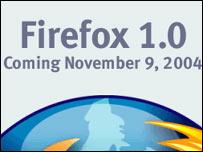 Screengrab from Mozilla homepage, Mozilla Foundation