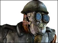 Screenshot of enemy from Painkiller, Dreamcatcher