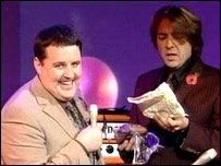 Peter Kay and Jonathan Ross