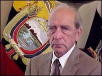 Ministro saliente de Gobierno y Policía de Ecuador, Raúl Baca. (Foto Ministerio de Gobierno de Ecuador)