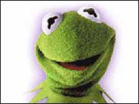 La rana Ren� o Gustavo (foto Sitio Oficial de Los Muppets)