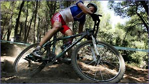 World and Olympic cross-country mountain biking champion Julien Absalon of France