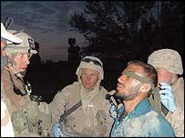 Marine raid on a suspected Taleban house