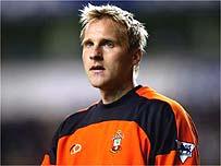 Southampton goalkeeper Antti Niemi